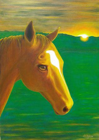 'SUNSET DARCY' 70 x 50 cm SOLD